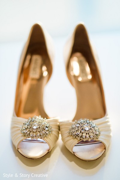 Shoes in Columbus, OH Indian Fusion Wedding by Style & Story Creative