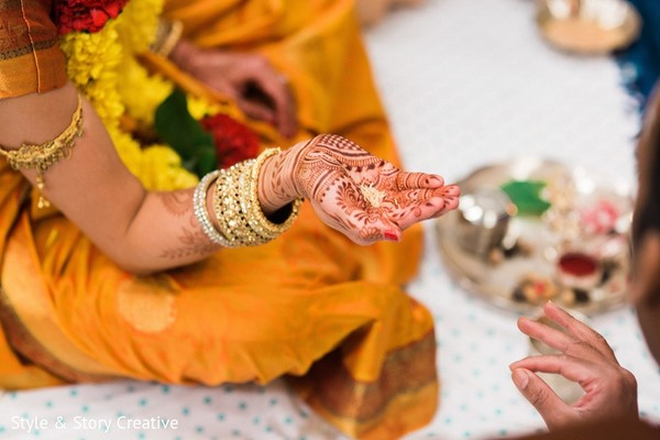 Pre-Wedding Ceremony in Columbus, OH Indian Fusion Wedding by Style & Story Creative