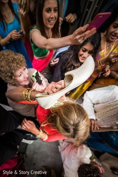 Baraat in Columbus, OH Indian Fusion Wedding by Style & Story Creative