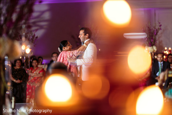 Reception in Newport, RI Indian Wedding by Studio Nine Photography + Cinema