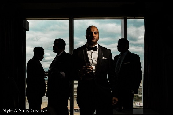 Groom Fashion in Columbus, OH Indian Fusion Wedding by Style & Story Creative