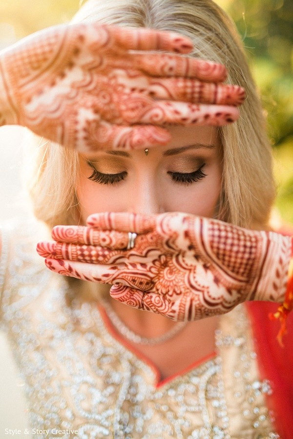 Mehndi in Columbus, OH Indian Fusion Wedding by Style & Story Creative