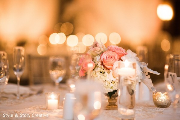 Floral & Decor in Columbus, OH Indian Fusion Wedding by Style & Story Creative