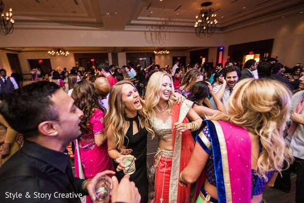 Reception in Columbus, OH Indian Fusion Wedding by Style & Story Creative