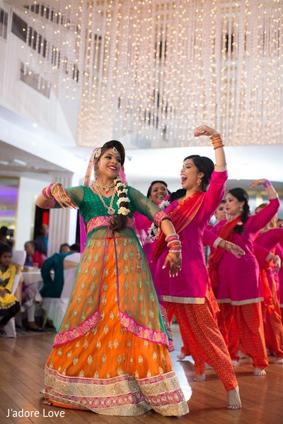 Mehndi Night in New Rochelle, NY South Asian Wedding by J'adore Love