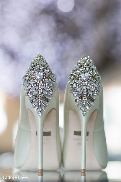 Shoes in New Rochelle, NY South Asian Wedding by J'adore Love