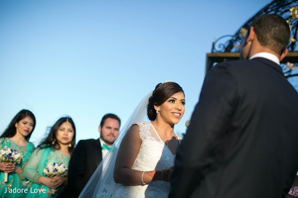 Ceremony in New Rochelle, NY South Asian Wedding by J'adore Love