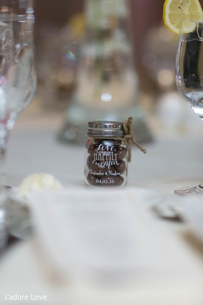Favors in New Rochelle, NY South Asian Wedding by J'adore Love