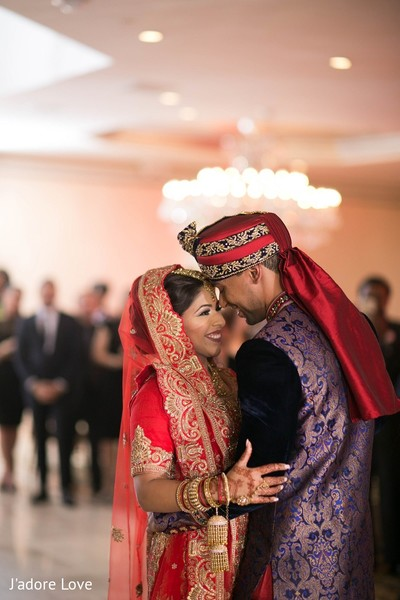First Dance in New Rochelle, NY South Asian Wedding by J'adore Love