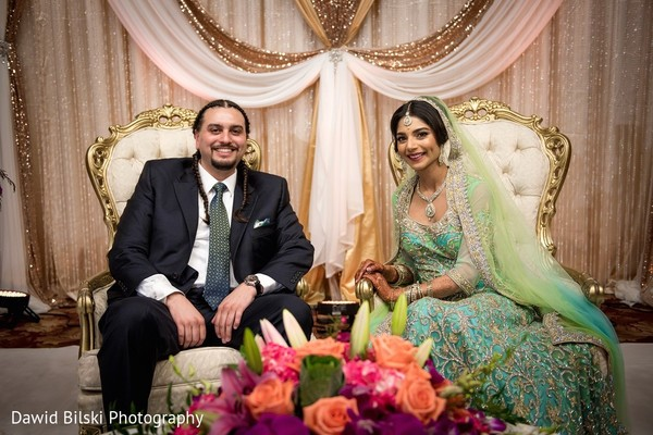 Ceremony in Newark, CA South Asian Wedding by Dawid Bilski Photography