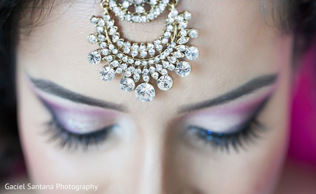 Bridal Jewelry in West Palm Beach, FL Indian Wedding by Gaciel Santana Photography