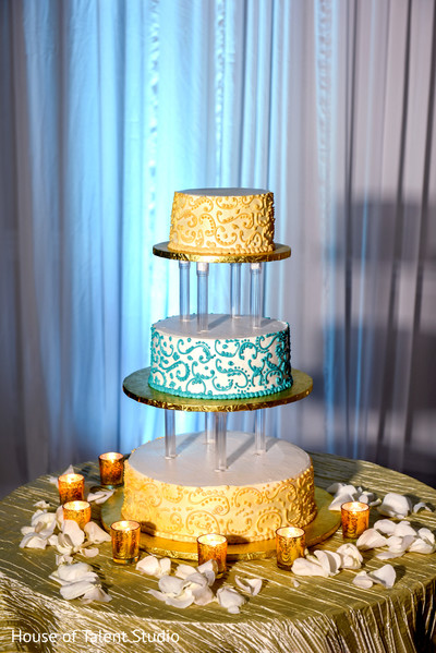 Indian wedding cake in Hauppauge, NY Indian Wedding by House of Talent Studio