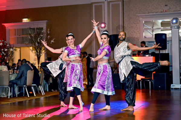 Indian wedding reception photography in Hauppauge, NY Indian Wedding by House of Talent Studio