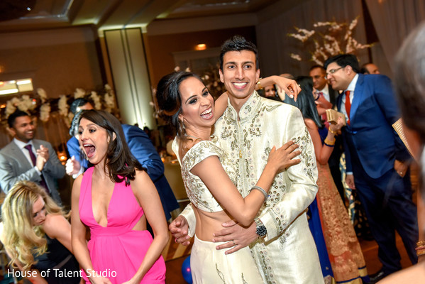indian wedding reception photography