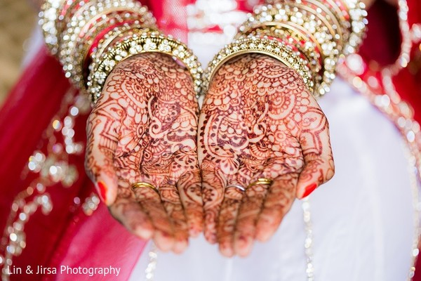 Mehndi in Rancho Palos Verdes, CA Indian Wedding by Lin & Jirsa Photography