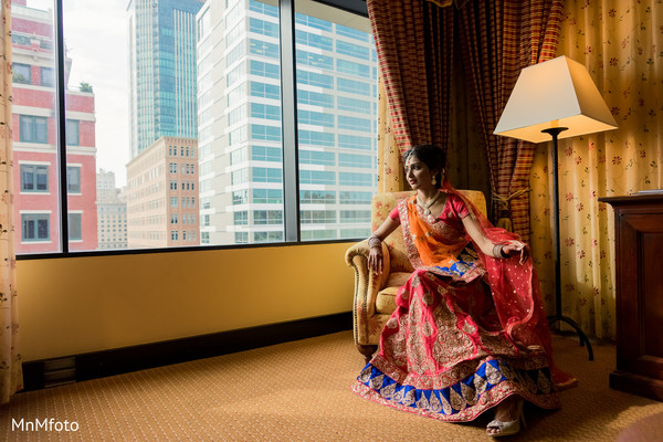 Getting Ready in Forth Worth, TX Indian Wedding by MnMfoto