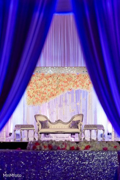floral and decor,sweetheart stage
