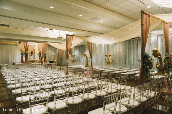 Indian wedding ceremony decor in San Antonio, TX Indian Wedding by Lomesh Photography