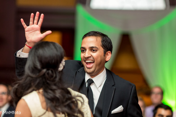 Reception in Forth Worth, TX Indian Wedding by MnMfoto