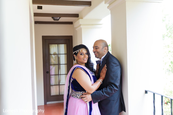 Indian wedding reception portraits in San Antonio, TX Indian Wedding by Lomesh Photography