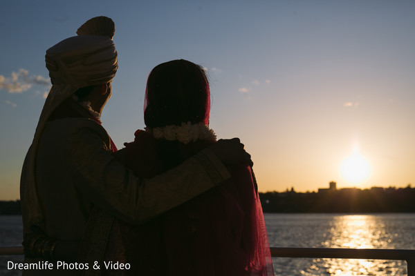 Indian wedding portraits in New York, NY Indian Wedding by Dreamlife Photos & Video