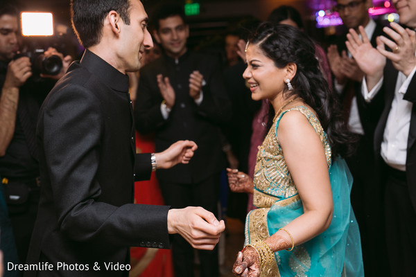 Indian wedding reception in New York, NY Indian Wedding by Dreamlife Photos & Video