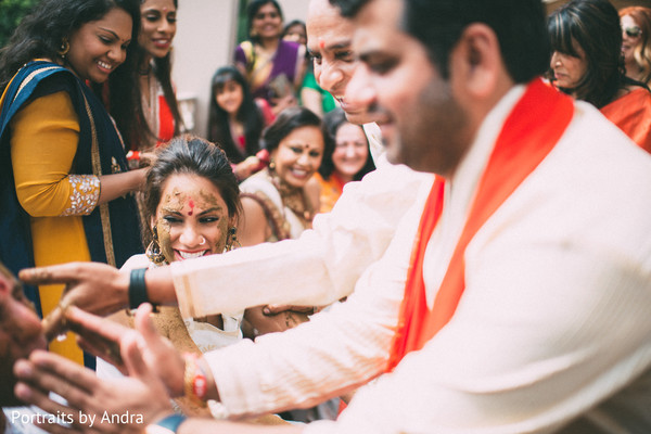 Pre-Wedding Ceremony in Scottsdale, AZ Hindu-Jewish Wedding by Portraits By Andra