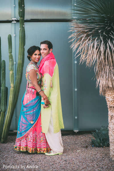 sangeet,sangeet night,pre-wedding portrait,sangeet portrait,sangeet night portrait,sangeet lengha,pre-wedding lengha,fusion wedding,indian fusion wedding