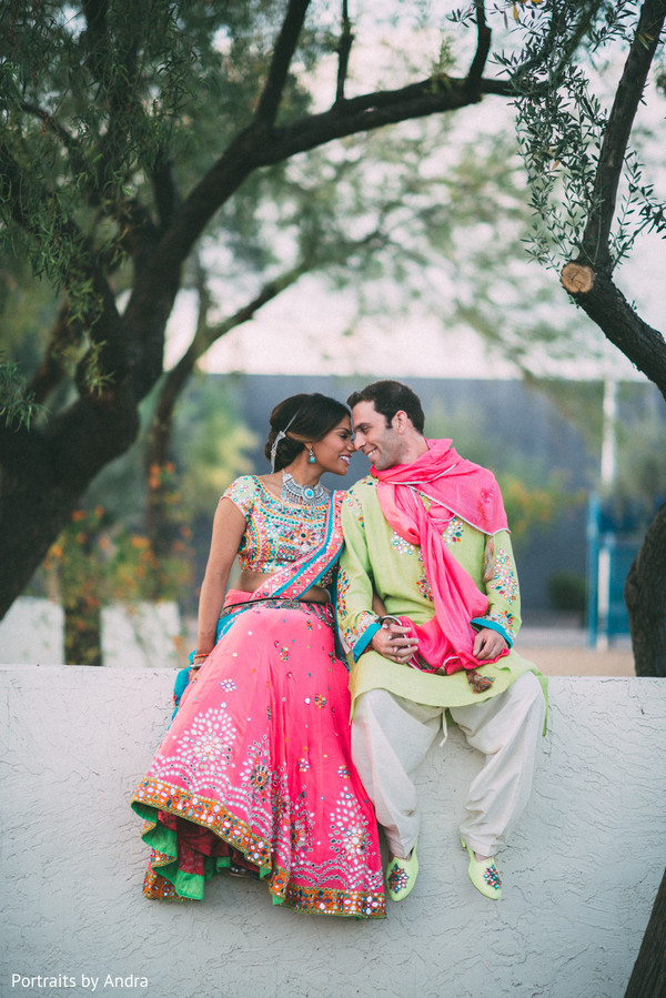 Pre-Wedding Portrait in Scottsdale, AZ Hindu-Jewish Wedding by Portraits By Andra