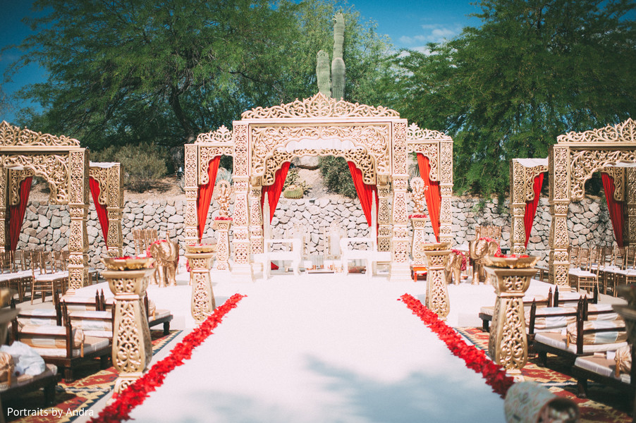 ceremony decor,mandap,outdoor mandap,outdoor wedding,outdoor wedding decor