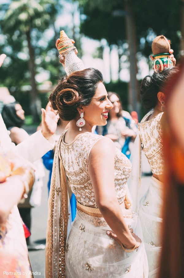 Baraat in Scottsdale, AZ Hindu-Jewish Wedding by Portraits By Andra