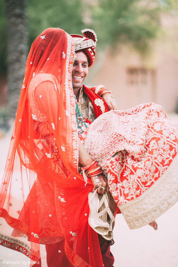 fusion wedding,indian fusion wedding,wedding portrait,dupatta