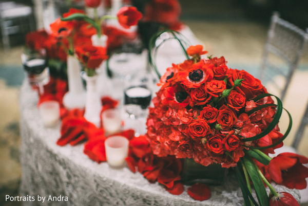 Floral & Decor in Scottsdale, AZ Hindu-Jewish Wedding by Portraits By Andra