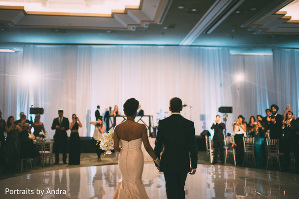Reception in Scottsdale, AZ Hindu-Jewish Wedding by Portraits By Andra