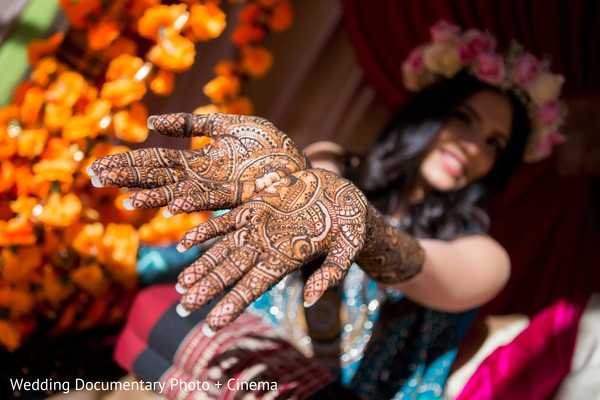 Mehndi hands in San Ramon, CA Indian Fusion Wedding by Wedding Documentary Photo + Cinema
