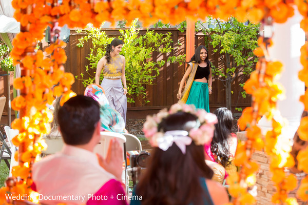 Mehndi party in San Ramon, CA Indian Fusion Wedding by Wedding Documentary Photo + Cinema