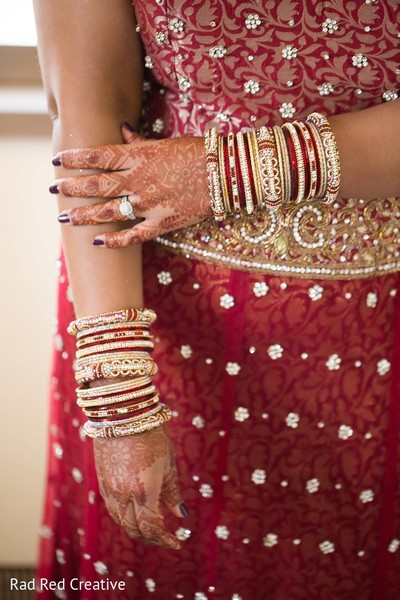 Bridal Jewelry in Tampa, FL Hindu-Christian Fusion Wedding by Rad Red Creative