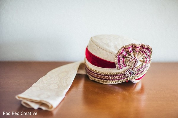 Groom Fashion in Tampa, FL Hindu-Christian Fusion Wedding by Rad Red Creative
