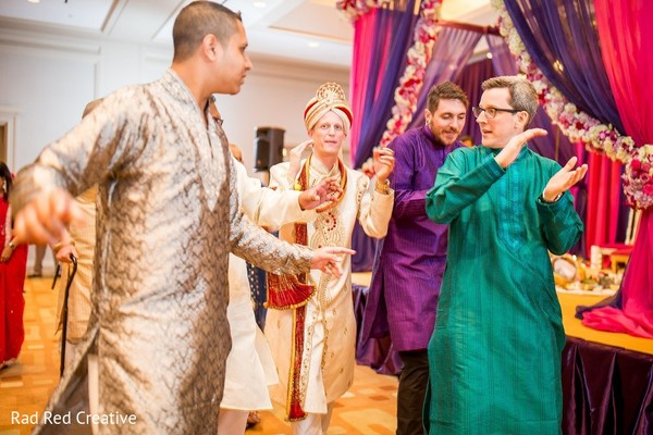 Ceremony in Tampa, FL Hindu-Christian Fusion Wedding by Rad Red Creative