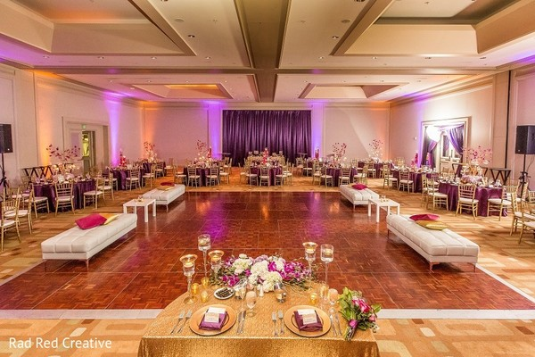 Venue in Tampa, FL Hindu-Christian Fusion Wedding by Rad Red Creative