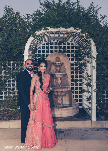 Indian reception portraits in Anaheim, CA Indian Wedding by Indian Wedding Snap