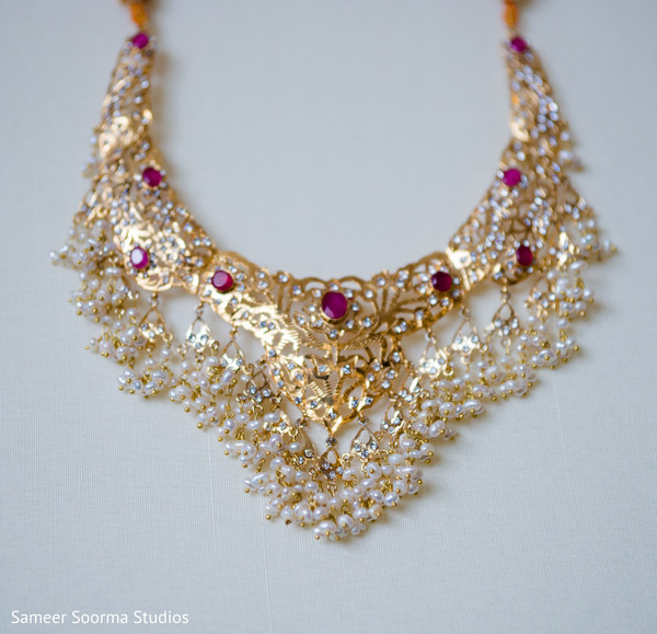 Indian bridal jewelry in Phoenix, AZ Pakistani Wedding by Sameer Soorma Studios