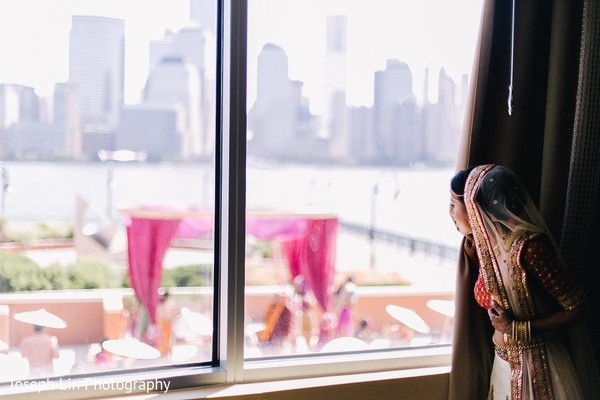 Getting Ready in Jersey City, NJ Indian Wedding by Joseph Lin Photography