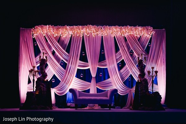 floral and decor,reception decor,sweetheart stage