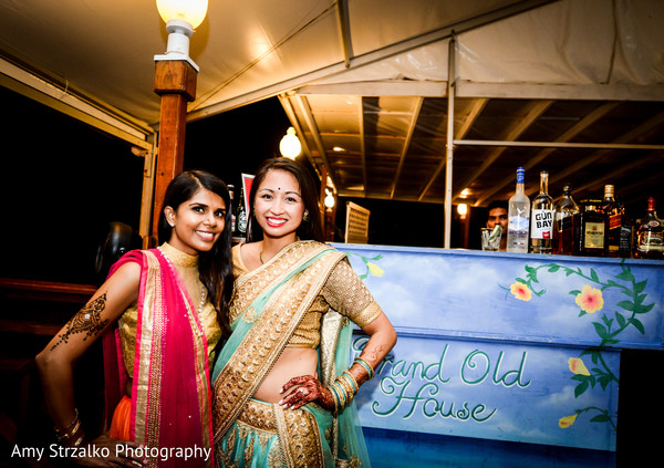 Sangeet in Grand Cayman Destination Indian Wedding by Amy Strzalko Photography