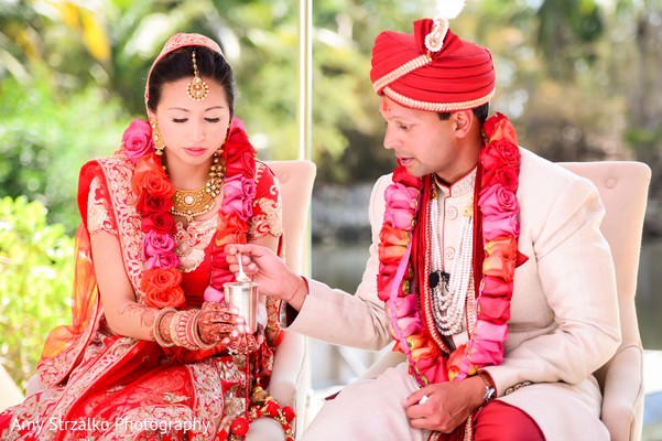 Indian fusion wedding in Grand Cayman Destination Indian Wedding by Amy Strzalko Photography
