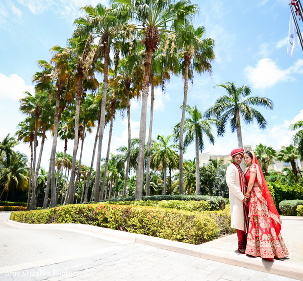 Indian wedding photos in Grand Cayman Destination Indian Wedding by Amy Strzalko Photography
