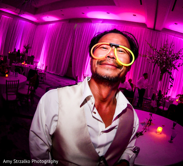 Indian fusion wedding reception in Grand Cayman Destination Indian Wedding by Amy Strzalko Photography