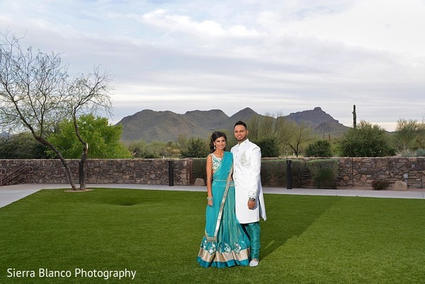 Pre-Wedding Portrait in Scottsdale, AZ Indian Wedding by Sierra Blanco Photography