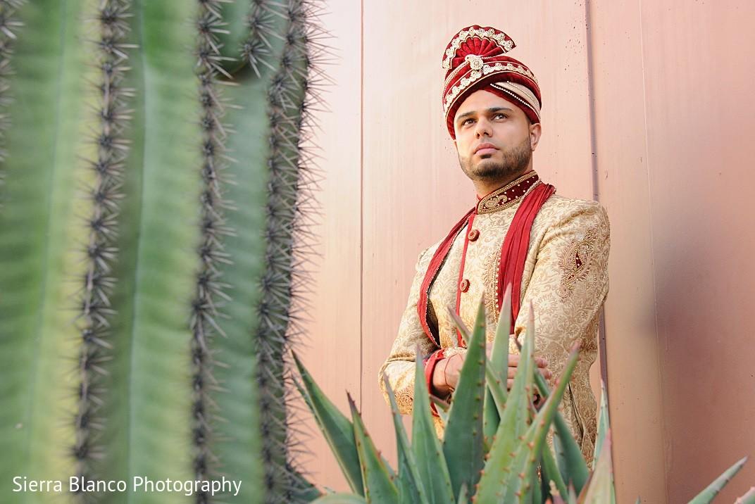 Groom portrait in scottsdale az indian wedding by sierra for Indian jewelry in schaumburg il